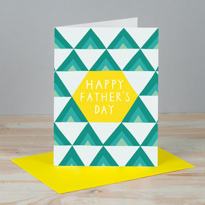 'Father's Day Pyramids' Card