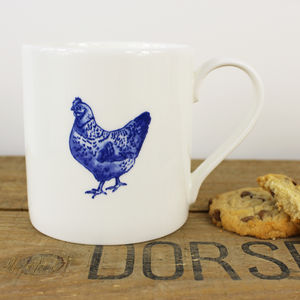 Chicken Fine Bone China Mug
