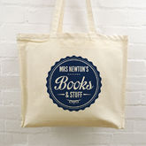 Personalised Teacher Tote Bags - accessories
