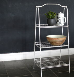 Metal Storage Rack - shelves