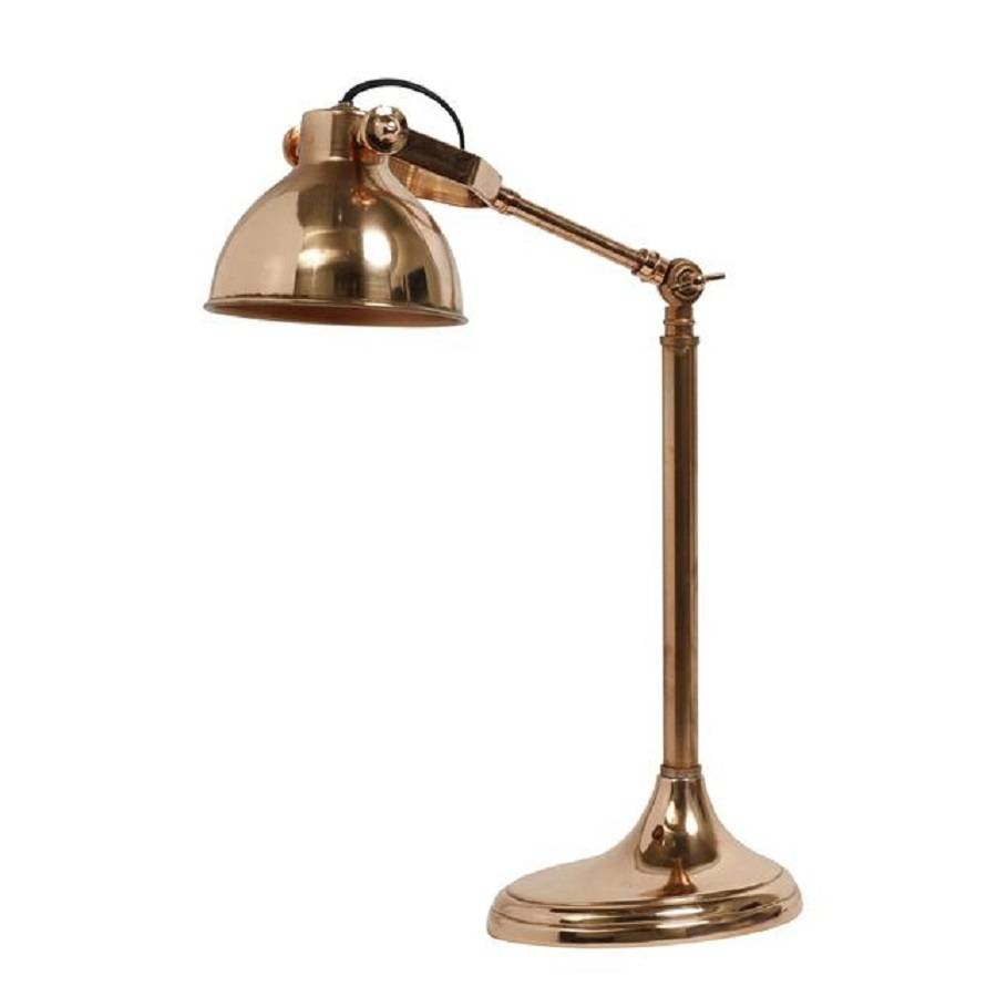 copper campus table lamp by bell blue. Black Bedroom Furniture Sets. Home Design Ideas