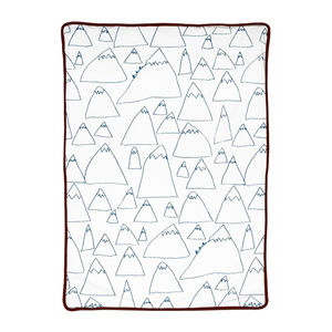 Mountain Eco Baby Blanket