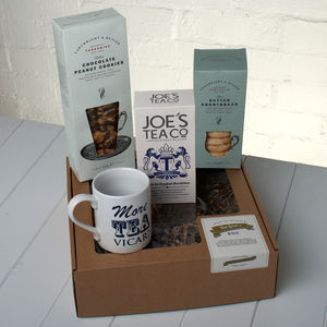 The Tea Lover's Gift Box - for foodies