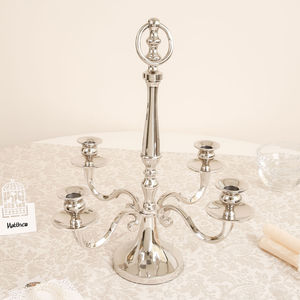 Regency Four Pillar Centrepiece Candelabra - table decorations