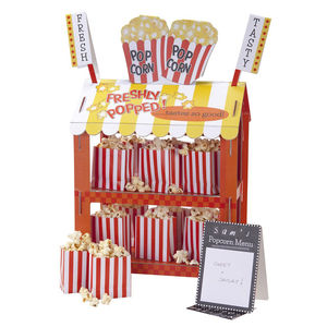 Popcorn And Hotdog Reversible Snack Stand - room decorations