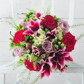 Redcurrant Fresh Flowers Bouquet - home