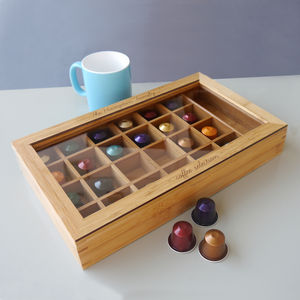 Personalised Coffee Capsule Box