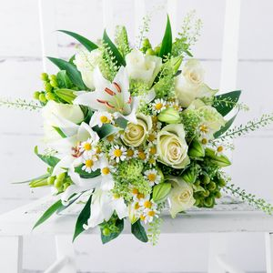 Basil Fresh Flowers Bouquet - home accessories