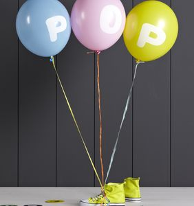 Personalised Letter Balloons - children's parties