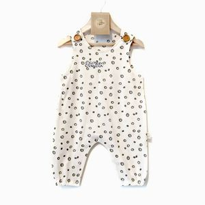 London Raindrop Baby Dungarees - clothing