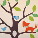 Woodland Tree Wall Stickers