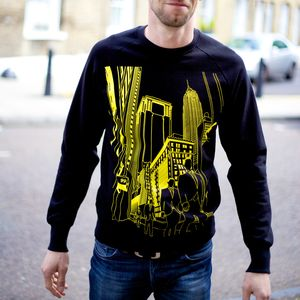 New York Wall St Sweatshirt - travelling