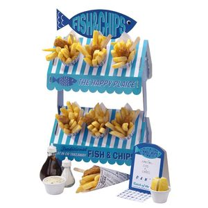 Seaside Fish And Chips Snack Stand - table decorations