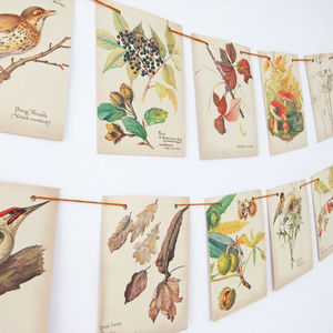 Autumn Berries Bunting - rustic autumn wedding styling