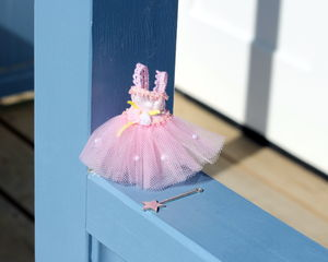 Tutu And Wand Set Magical Door Accessory