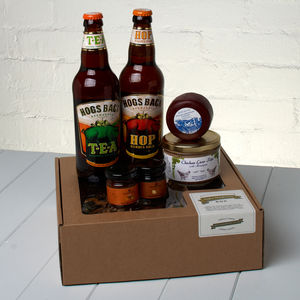 The Real Ale Perfect Ploughman's Box - hampers