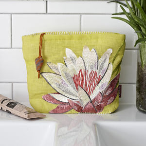 Flower Cosmetic Bag - travel & luggage