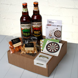 The Real Ale 'Pop Up Pub' Box - food gifts