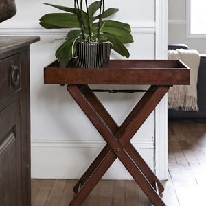 Leather Butler Tray - side tables