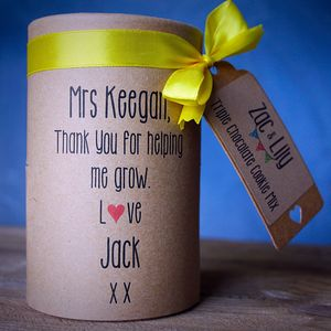 Personalised Thank You Teacher Cookie Mix