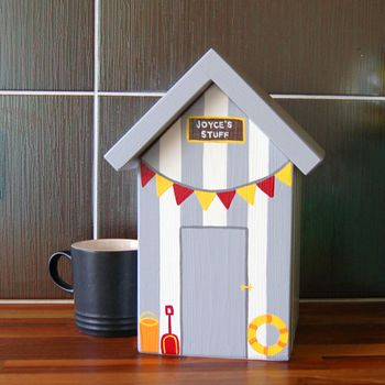 Beach Hut Keepsake Box