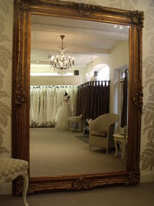 Huge Gold Antique Mirror - mirrors