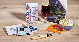 Personalised One Month Beer Club Gift With Beer Book