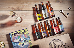 Mixed Case Of Ten Craft Beers And Ferment Bookazine - wines, beers & spirits