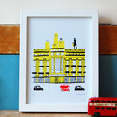 London Selfridges Print