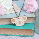 Wooden Koala Necklace