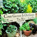 Personalised Large Garden Statement Sign