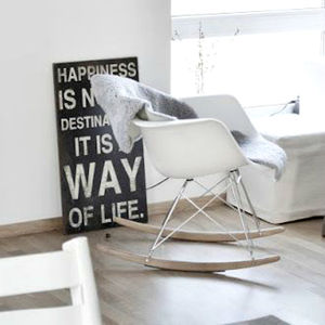 Happiness Quote Wall Plaque