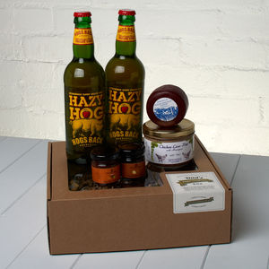 Dad's Craft Cider Perfect Ploughman's Box - beer & cider