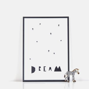 'Dream' Print - posters & prints for children