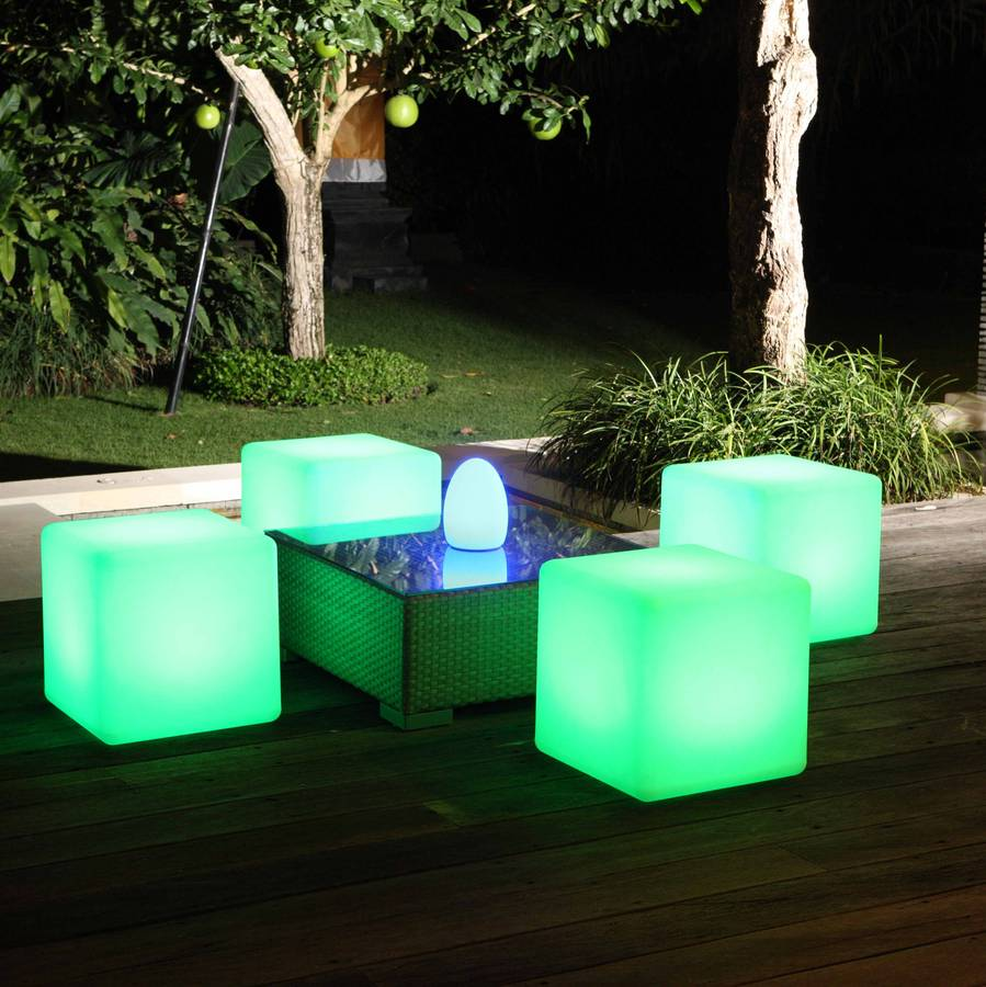 Colour changing outdoor light cube by jusi colour colour changing outdoor light cube aloadofball