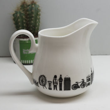 Illustrated London Milk Jug