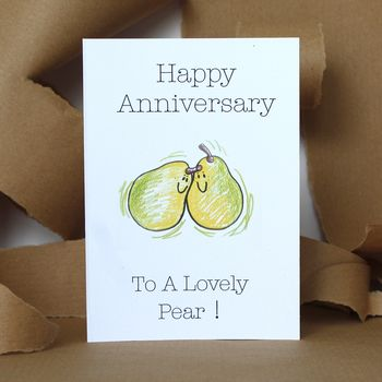 Anniversary Pear Card