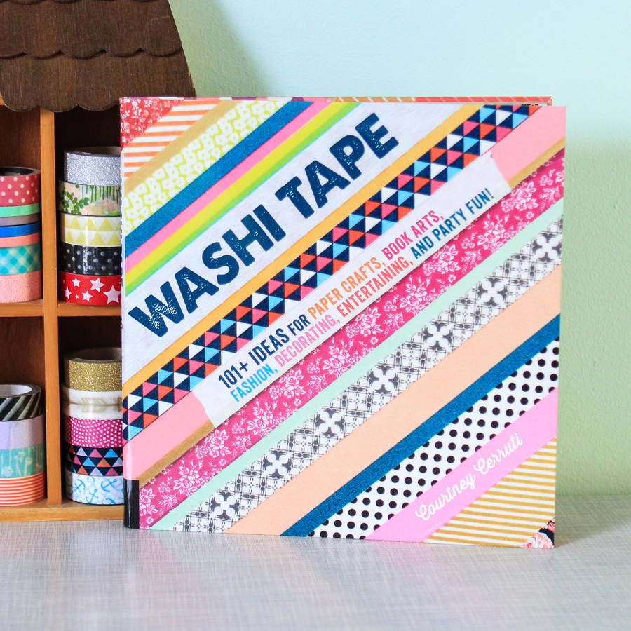 Washi tape crafts book driverlayer search engine for Crafts with washi tape