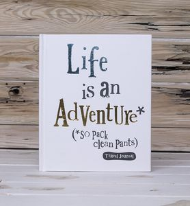 Life Is An Adventure Notebook And Journal