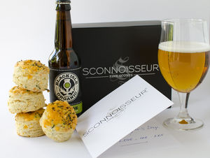 Gentleman's Afternoon Tea Giftbox Subscription 3months - beer & cider