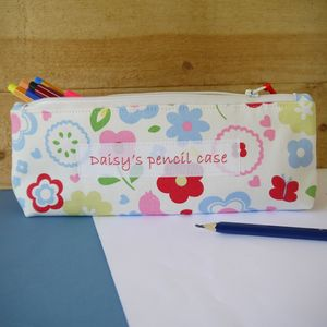 Personalised Pencil Case - interests & hobbies