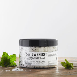 L:A Bruket Mint Bath Salts