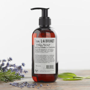 Sage, Rosemary And Lavender Liquid Soap - gifts for friends