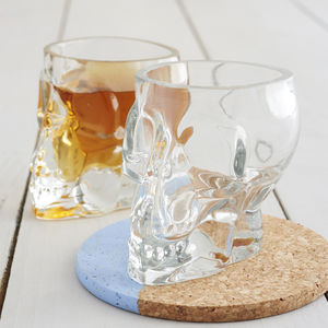 Tiki Skull Shot Glass - shot glasses