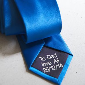 Personalised Secret Message Tie - gifts for him