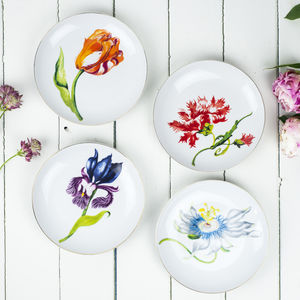 Flower Plates, Dutch Design - home picks