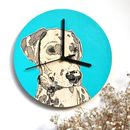 Bespoke Pet Portrait Clocks