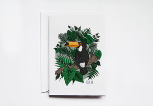 Toucan Greeting Card - blank cards