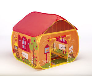 Children's Farm Pop Up Play Tent - indoor activities