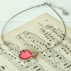 Bubble Fish Pendant - necklaces & pendants